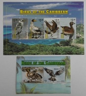 Canouan Grenadines Of St.Vincent 2011** Klb.173-76, Bl.14. Birds Of The Caribbean MNH [10;33,122] - Birds