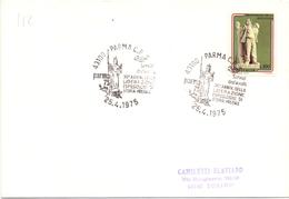 ANNIVERSARIO LIBERAZIONE  PARMA   1975  COVER MAXI FORMAT (DICE1800067) - Militaria