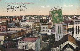 CPA -Bird's Eye View Of San Antonio, Texas - Frost National Bank-1912- 2scans - San Antonio