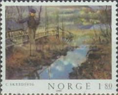 Norway - Paintings -1980 - Norvège