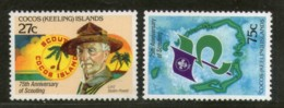 Cocos Keeling Islands 1982 Scouting Year Baden Powell Boy Scout Sc 85-6 MNH # 77 - Scouting