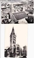 05 EMBRUN Lot De 2 CP La Cathédrale - Embrun