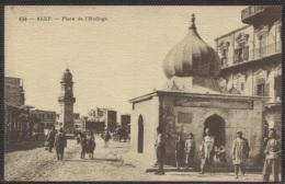 CPA - ALEP - PLACE DE L'HORLOGE - Edition ND - Syrie