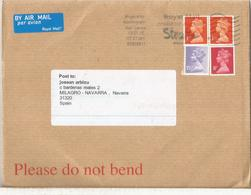 REINO UNIDO CC BIRMINGHAM SELLOS MACHIN MAT STROKE - 1952-.... (Elizabeth II)