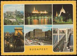 Ungarn - Budapest - Ansichten - Cars - Nice Stamp - Ungarn