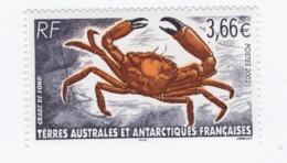 VP7L3 TAAF FSAT Neufs** MNH  Crabe 2002 N°335 - Nuevos