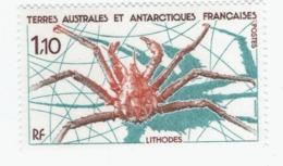 VP7L3 TAAF FSAT Neufs** MNH  Lithodes N°140 1989 - Tierras Australes Y Antárticas Francesas (TAAF)