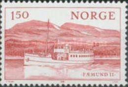 Norway - Motor Boats-1981 - Norvège