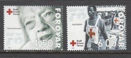 Faroe Islands MNH Michel Nr 391/92 From 2001 / Catw 3.50 EUR - Féroé (Iles)