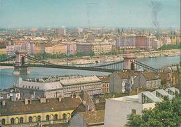 Ungarn - Budapest - Chain Bridge - Nice Stamp - 2x Stempel !!! 60er Jahre - Ungarn