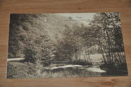 6625- FALAEN, PONT IMPROVISE SUR LA MOLIGNEE - 1929 - Onhaye