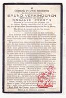 DP Bruno Verkinderen ° Kanegem Tielt 1936 † 1903 X Rosalie Persyn - Images Religieuses