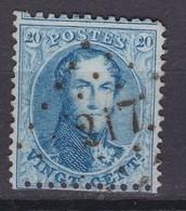 N° 15 B : 217 LIEGE - 1863-1864 Médaillons (13/16)