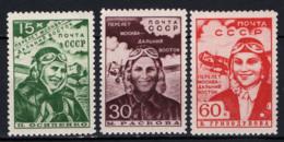 Russia 1939 Unif. 705/07 **/MNH VF - 1923-1991 URSS