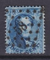 N° 15 B : 58  BRUGES - 1863-1864 Médaillons (13/16)