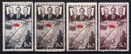 Russia 1938 Unif. 628/31 **/MNH VF/F - 1923-1991 URSS