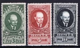 Russia 1939 Unif. 738/40 **/MNH VF/F - 1923-1991 URSS