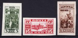 Russia 1925 Unif. 348/50 **/MNH VF/F - 1923-1991 URSS