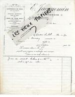 70 - Haute-saône - FONTENOIS - Facture JACQUEMIN - Commerce De Bois - 19?? - REF 117C - France