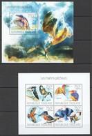 WW337 2013 TOGO TOGOLAISE FAUNA BIRDS KINGFISCHER LES MARTINS-PECHEURS KB+BL MNH - Oiseaux
