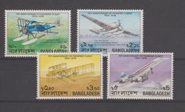 Bangladesh 1978 Avions Dont Concorde Série 121-124 4 Val ** MNH - Bangladesh