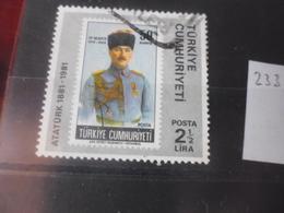 TURQUIE YVERT N°  2332 - 1921-... République