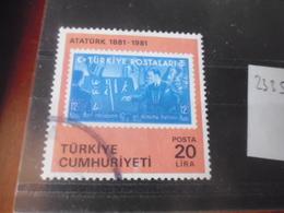 TURQUIE YVERT N°  2335 - 1921-... République