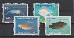 Bangladesh 1983 Poissons Série 188-191 4 Val ** MNH - Bangladesh