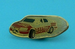1 PIN'S //  ** FORD SIERRA COSWORTH 4x4 / GROUP A / BASTOS / CASTROL / 1991 ** - Ford