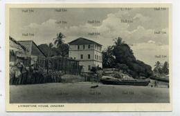 Zanzibar Tanzania Livingstone House 1910s-1930s Postcard By AC Gomes Muscat Oman Sultan - Tanzania