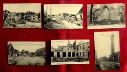 LOT 6 CPA MILITARIA GUERRE 1914-18 PAS DE CALAIS ARRAS NEUVILLE ST WAAST VILLERS ARLAIN ST NAZAIRE AIX NOULETTE LOOS - France
