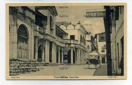 Zanzibar Tanzania Post Office 1900s Postcard By JB Coutinho Muscat Oman Sultan - Tanzania