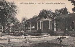 CAMBODGE Pnom-Penh Jardin De La Ville La Voliere 02K - Cambodia