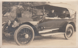 Real Photo - CADILLAC Type 30 - 1912-1914 - Old Car - Voiture Ancienne - Animation - 2 Scans - Automobiles