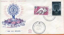 "Tunisie ; FDC 1960 "" Aide Aux Réfugiés "" - Tunisie (1956-...)"