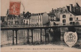 LOIRE ATLANTIQUE-Le Croisic-Quai Du Port Ciguet Et Le Pont Tournant - 72 - Le Croisic