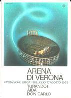 ARENA DI VERONA -47^ STAGIONE LIRICA 1969 - Opera