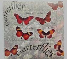 Lesotho 2004** Klb.1890-93. Butterflies MNH [4;39] - Pflanzen Und Botanik