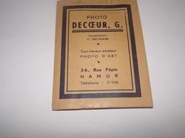 Pochette Avec Nombreux Négatifs Photographie Decoeur G.à Namur Rue Pépin.Anciennement Previnaire. - Matériel & Accessoires