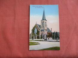 Canada > New Brunswick   St. Andrews--- Church Of St. Andrew  L     Ref 3099 - New Brunswick