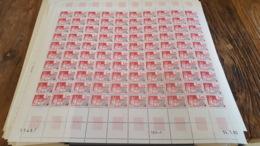 LOT 430071 TIMBRE DE FRANCE NEUF** LUXE N°168 VALEUR 100 EUROS FEUILLE - Feuilles Complètes