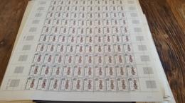 LOT 430075 TIMBRE DE FRANCE NEUF** LUXE N°110 VALEUR 40 EUROS FEUILLE - Feuilles Complètes