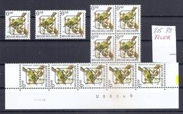 BELGIE * Buzin  PRE * Nr 815 P8 * Postfris Xx * FLUOR PAPIER - 1985-.. Oiseaux (Buzin)