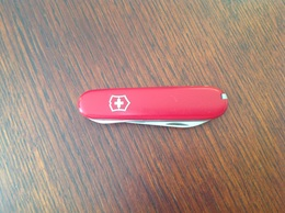 Vieux Couteau D'Officier Suisse. - Armes Blanches