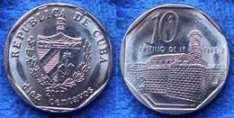 "CUBA - 10 Centavos 2017 ""Castillo De La Fuerza"" KM# 576 Second Republic (1962) - Edelweiss Coins - Cuba"