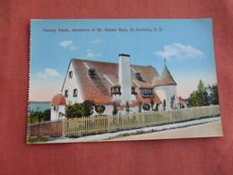 Canada > New Brunswick   St. Andrews--- Pansey Patch Residence Mr. Hayter Reid  Ref 3099 - New Brunswick