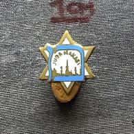 Badge Pin ZN007534 - Football Soccer Calcio Yugoslavia Serbia Novi Sad Zidovsko Jew Sportsko Drustvo Juda Makabi Maccabi - Football