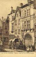 Ollustrateur LE VIEIL ORLEANS  Maison Située Rue De La Pierre Percée RV - Orleans