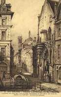 Ollustrateur LE VIEIL ORLEANS  Chaprlle Saint Jacques Rue Des Hotelleries  RV - Orleans