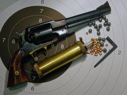 Rare Remington 58 Uberti Target Cal. 36 - Armes Neutralisées
